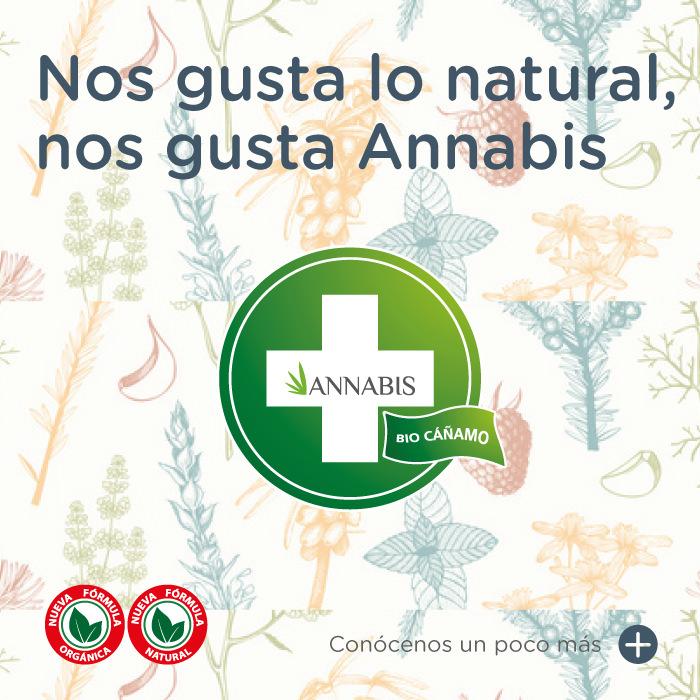 Nos gusta lo natural, nos gusta Annabis