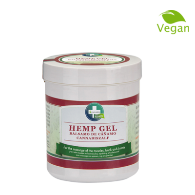 hemp gel crema de cannabis antiinflamatoria natural para masaje