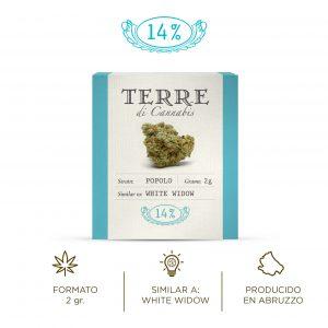VOLARE Terre Di Cannabis Flor de cáñamo CBD Cannabis light