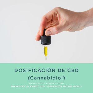 Formación gratuita Cannabis dosis de CBD Cannabidiol